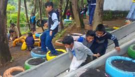 Parque de llantas recicladas en Sacatepéquez destaca en Playground Ideas