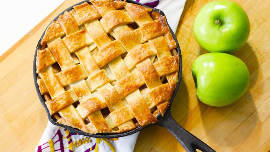 Clase de cocina para preparar pie de manzana   Julio 2017