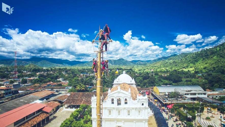 Realizarán la Danza del Palo Volador en Cubulco, Baja Verapaz 2017