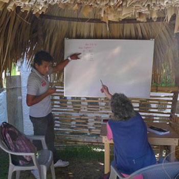 Recibe cursos de español es San Pedro