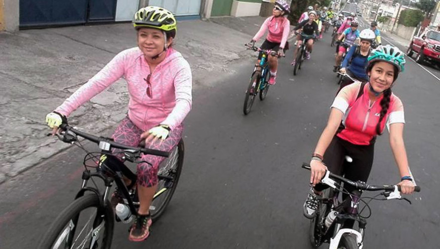 Recorrido en bicicleta solo para mujeres | Julio 2017
