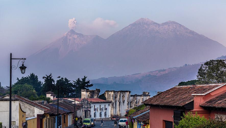 Ascenso a volcanes de Fuego y Acatenango   Agosto 2017