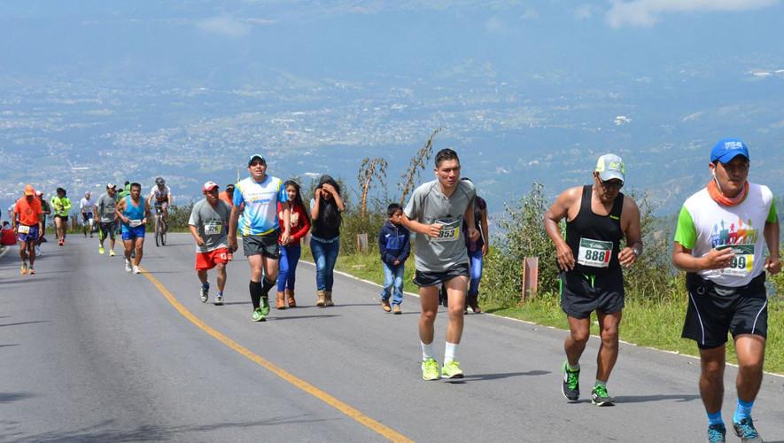 Carrera Ascenso a Los Cuchumatanes   Agosto 2017