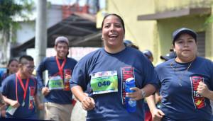 Carrera Run 12.3 Bomberos Municipales Guatemala | Julio 2017