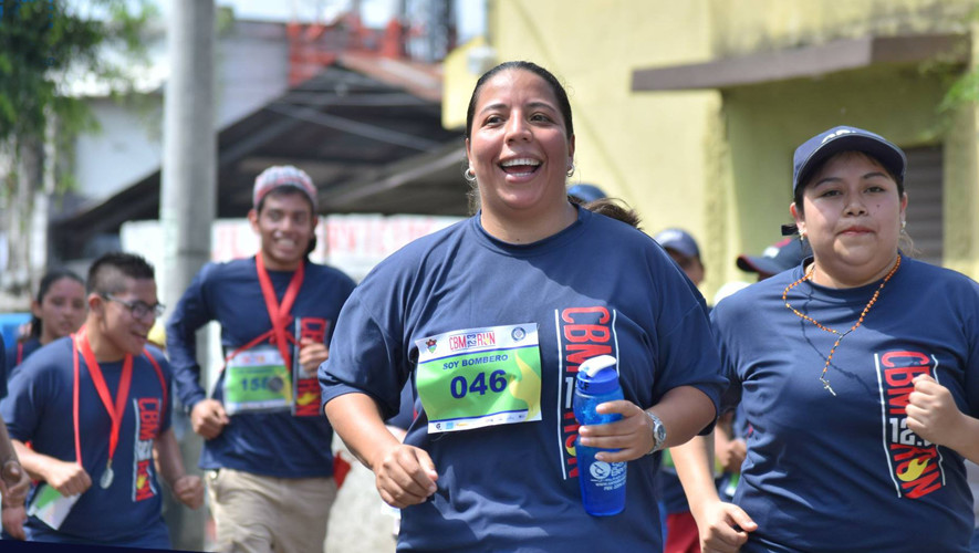 Carrera Run 12.3 Bomberos Municipales Guatemala | Julio 2017