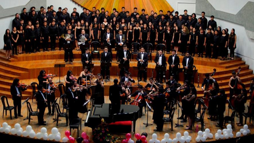 Presentación de la Orquesta del Conservatorio Nacional de Música   Agosto 2017