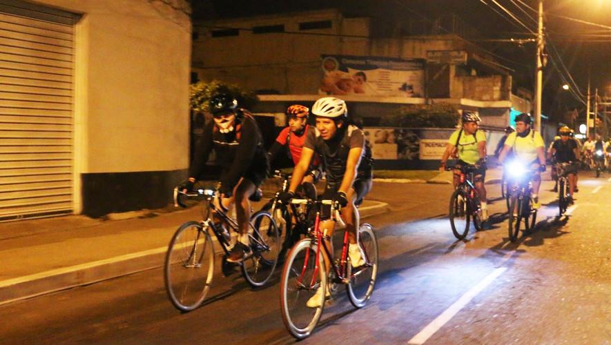 Colazo nocturno en bicicleta por aniversario de Lobos Bike GT | Julio 2017