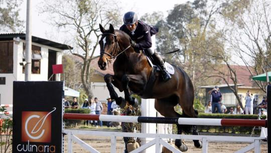 Cristian Sánchez buscará la gloria mundial en Argelia, cuando afronte la final del Desafío FEI de salto. (Foto: Prensa ANEG)