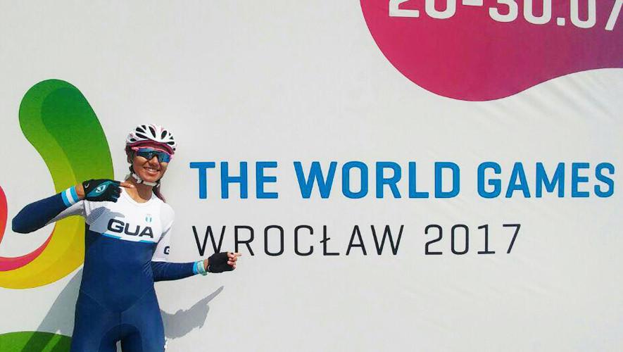 Dalia, con 20 años, es la única exponente de Guatemala en los Juegos Mundiales que se celebran en Polonia. (Foto: COGuatemalteco)