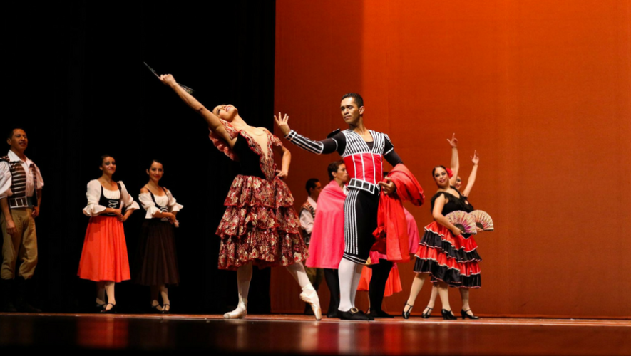 """""""Don Quijote"""" por Ballet Nacional de Guatemala en Centro Cultural Miguel Ángel Asturias   Agosto 2017"""