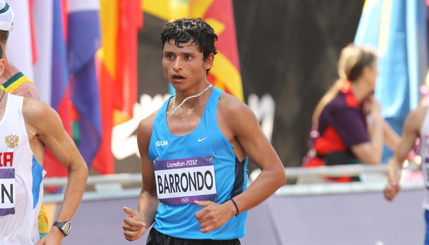 Erick Barrondo es invitado a competir en la Liga Diamante