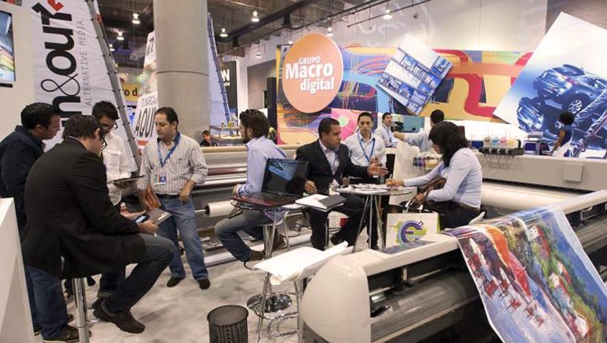 Feria de la industria gráfica y publicitaria en Guatemala  Septiembre 2017