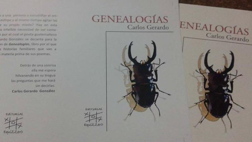 Presentación del libro Genealogías de Carlos Gerardo | Julio 2017