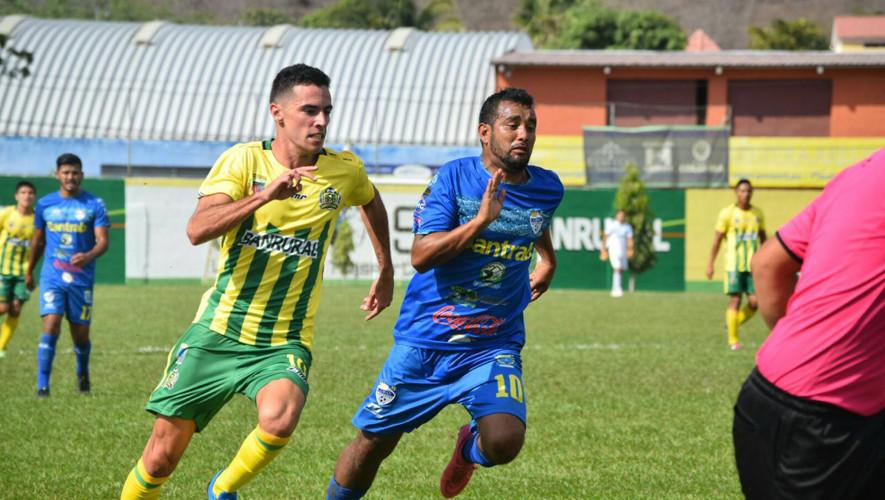 Partido de Guastatoya vs Cobán por el Torneo Apertura| Julio 2017