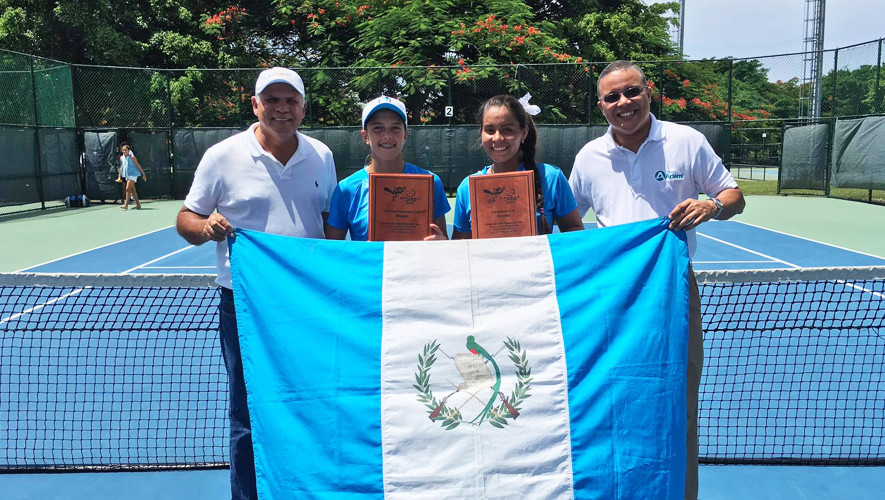 Rut Galindo y Gabriela Rivera dominaron las modalidades de singles y dobles, proclamándose como las mejores tenistas de Centroamérica y Caribe en la categoría U-16. (Foto: Mayantt)