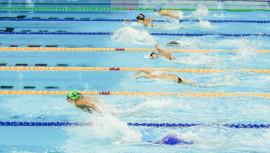 Valerie Gruest dominó todas las pruebas en las que participó, siendo la mejor nadadora para Guatemala en el CCCAN. (Foto: Allan V. Crane/CA-images)