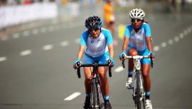 Las ciclistas guatemaltecas buscaràn ser las protagonistas en la vuelta ciclistica de Costa Rica. (Foto: COGuatemalteco)