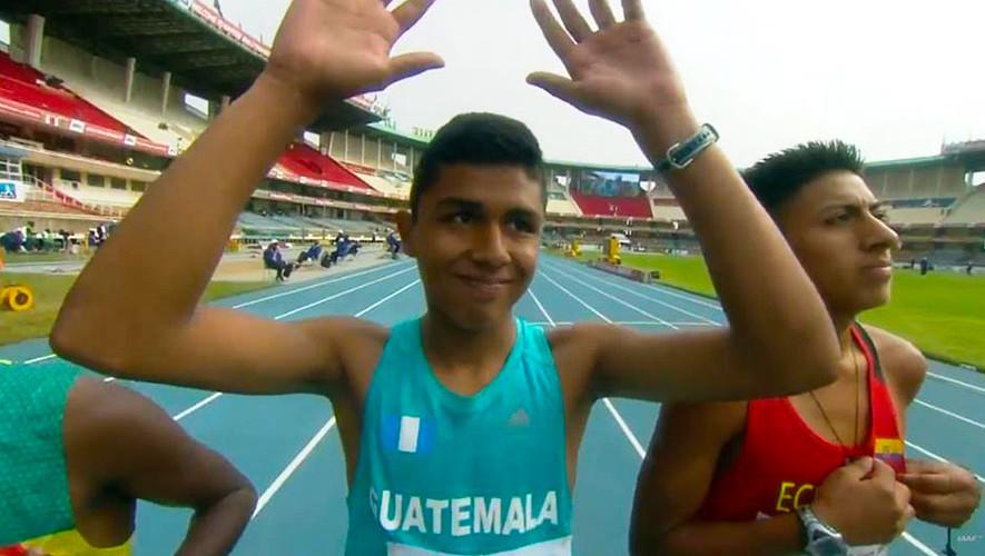 Ortiz obtuvo el mejor resultado de América en la prueba de marcha de este Mundial. (Foto: Corriendo por Guate)
