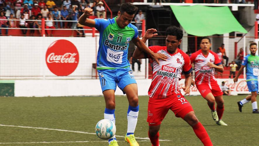 Partido de Malacateco vs Suchitepéquez por el Torneo Apertura| Julio 2017