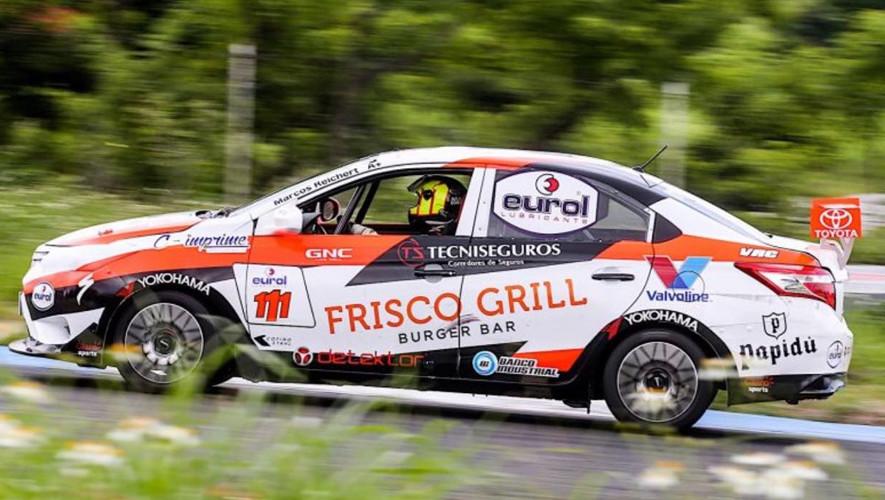 Reichert se robó el espectáculo de la tercera fecha de la Copa Toyota, venció a pilotos de calidad como Adolfo Castillo. (Foto: Marcos Reichert)