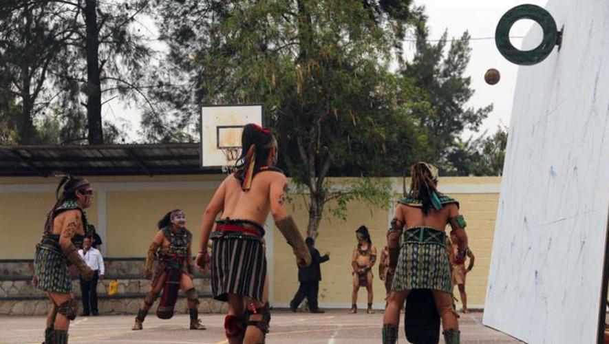 Ceremonia y juego de pelota maya en Antigua Guatemala | Julio 2017