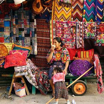 mercado en Panajachel