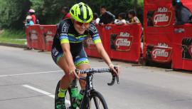 La guatemalteca representa a Guatemala en su primer Tour Profesional de Ciclismo en Europa. (Foto: FGC)