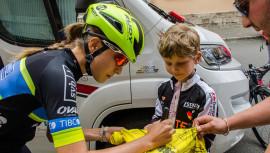 Nicolle pasará a la historia del ciclismo guatemalteco, siendo la primera atleta en participar en una competencia de talla mundial. (Foto: Team TIBCO)