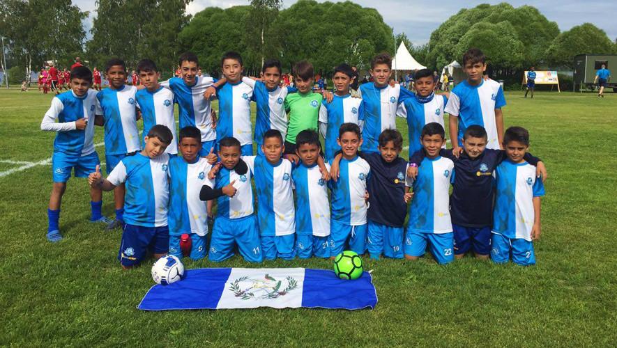 Niños guatemaltecos competirán en la Gothia Cup de fútbol 2017 en Europa ec03340969f39