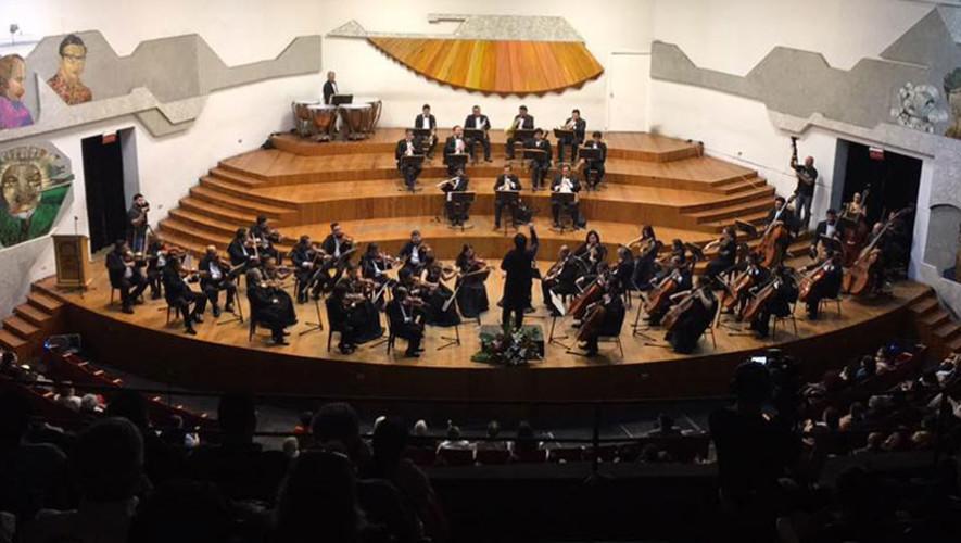IV Concierto de temporada de la Orquesta Sinfónica Nacional de Guatemala | Julio 2017