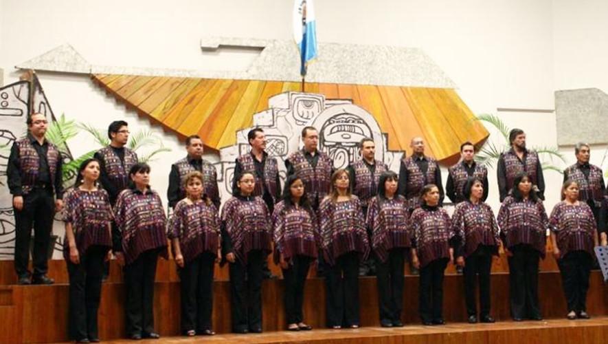Presentación de coro en el Conservatorio Nacional de Música | Agosto 2017