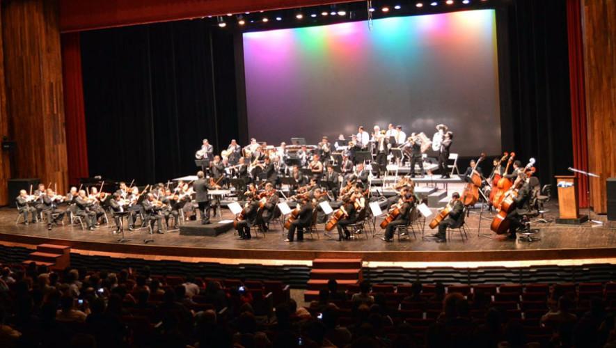 VII Concierto de la Orquesta Sinfónica Nacional de Guatemala   Julio 2017