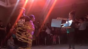 """Taller de arte sobre """"Performance"""" en Fundación Yaxs   Julio 2017"""