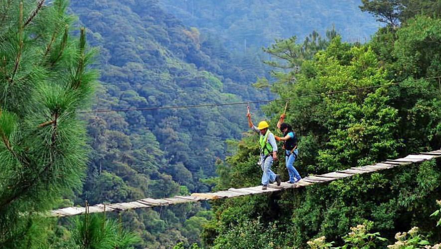 Visita al parque ecológico Pino Dulce en Jalapa