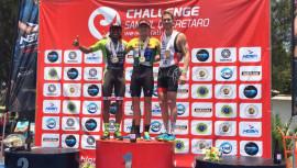 Tejada fue la sorpresa de este triatlón, al ubicarse en el tercer puesto de la élite masculina. (Foto: Raúl Tejada)