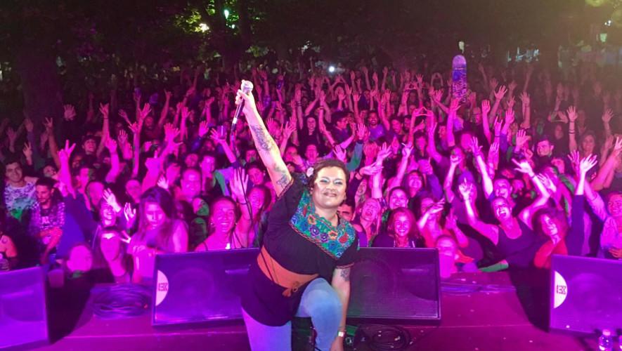 Concierto de Rebeca Lane en Antigua Guatemala | Agosto 2017