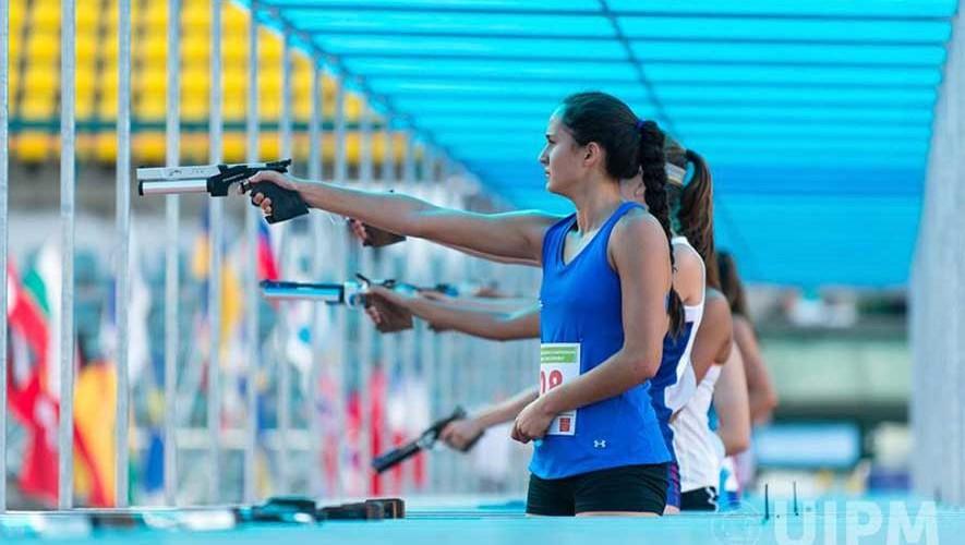 Aragón consiguió el mejor resultado de la delegación de Guatemala, al ser la única clasificada a una final de individual. (Foto: UIPM World)