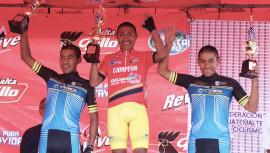 El ciclista originario de Tecpán triunfó en una de las competencias más importantes del ciclismo en Guatemala. (Foto: FGC)
