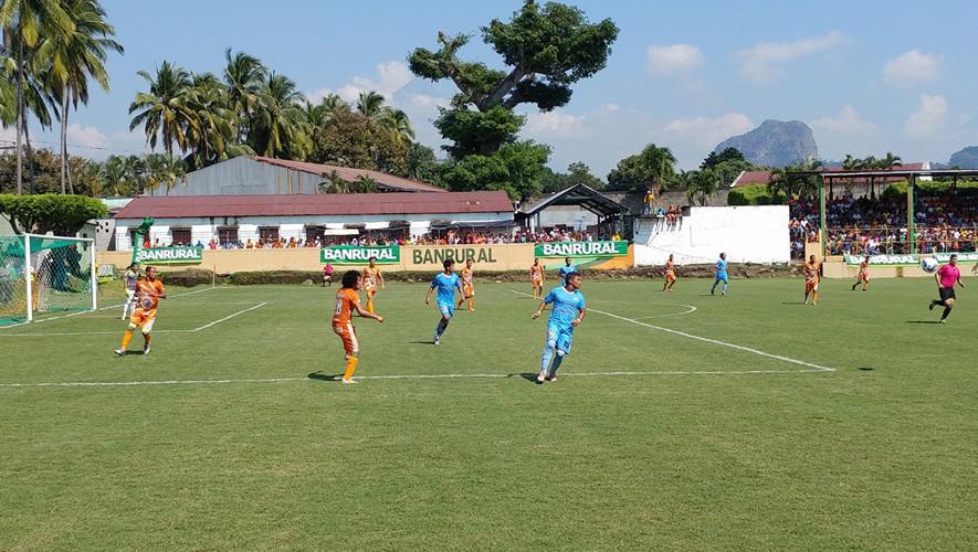 Partido de Siquinalá vs Sanarate por el Torneo Apertura| Julio 2017