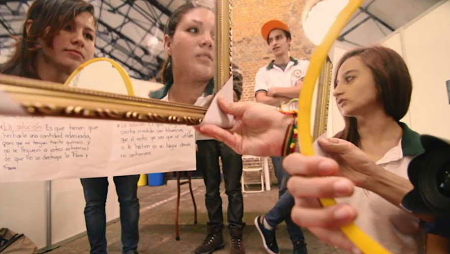 "Taller audiovisual ""CinEspejo"" en FILGUA   Julio 2017"
