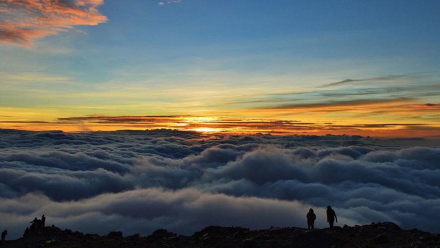 Ascenso nocturno al volcán Tajumulco | Agosto 2017