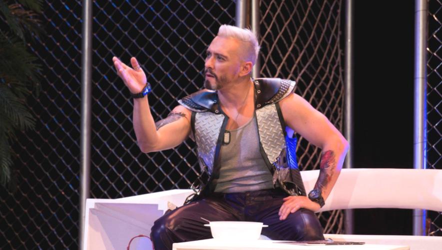 """Obra de teatro """"Testosterona"""" en Centro Cultural Miguel Ángel Asturias   2017"""