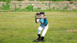 Valeria fue la sensación del Torneo Latinoamericano de Béisbol en Colombia. (Foto: Pequeñas Ligas de Béisbol de Colombia)
