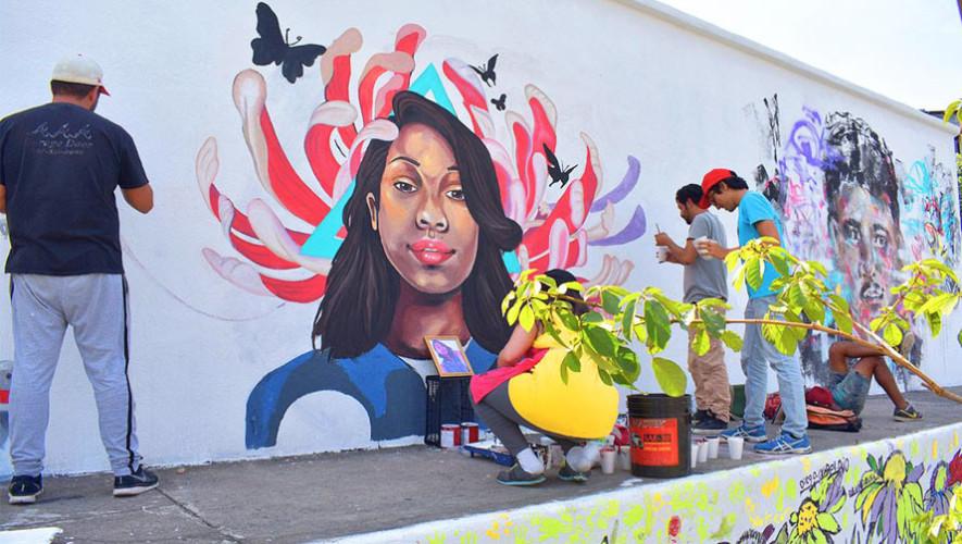 Buscan artistas para pintar murales en la Ciudad de Guatemala agosto 2017