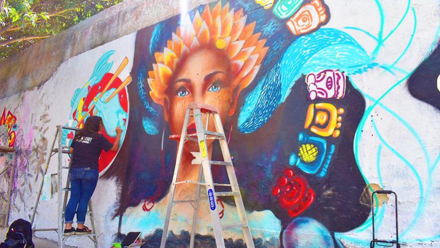 Buscan artistas para pintar murales en la Ciudad de Guatemala