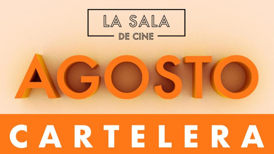Calendario de películas gratuitas en La Sala de Cine, agosto 2017