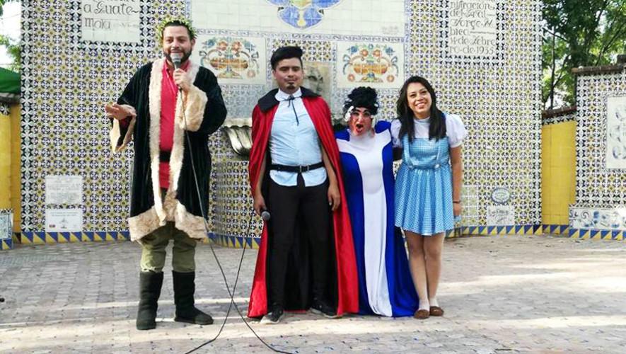 Curso de teatro gratuito en la Ciudad de Guatemala, agosto 2017