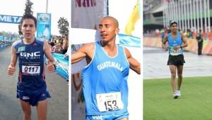 Guatemala tendrá por segunda vez en toda la historia a tres maratonistas en un Campeonato Mundial. (Fotos: COGuatemalteco/Luis Rivero)