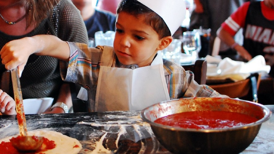 Festival de pizza para niños   Agosto 2017