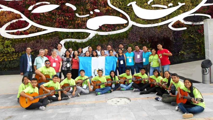 Ensamble Municipal de Guitarras representó a Guatemala en México